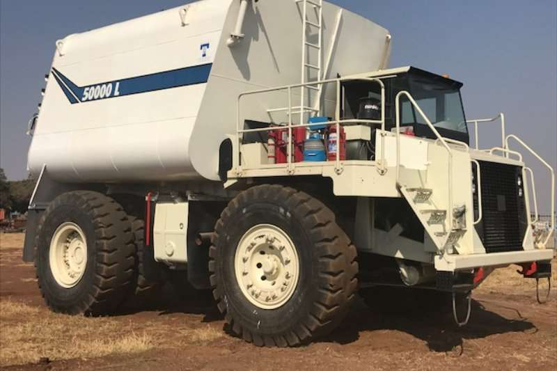 Terex TR60 with NEW50000LWATER TANKER Water tankers