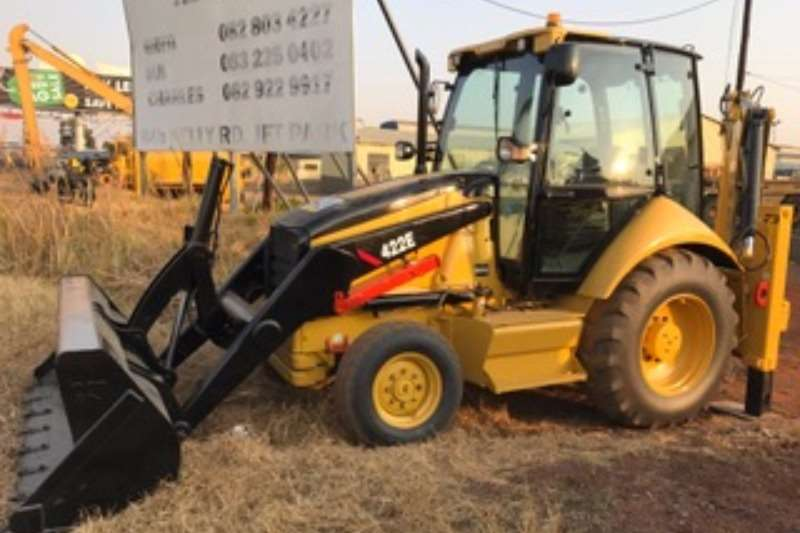 TLBs Caterpillar 422E 4x2 Backhoe Loader 2007