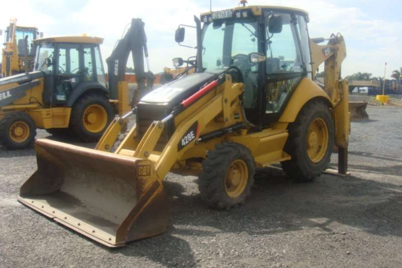 TLBs Caterpillar 428 E 2012
