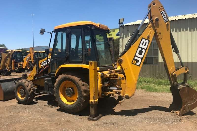 TLBs JCB JCB 3DX 4x4 Backhoe Loader  TLB