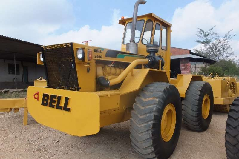 Bell Bell 2406 4x4 Tractors - towing