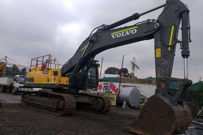 Volvo EC 480 DL Excavators
