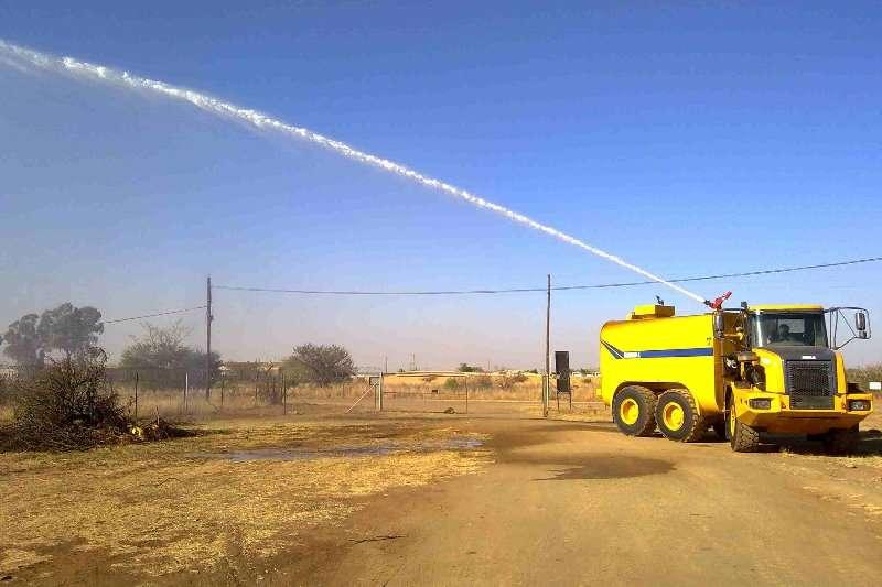 Water Tankers Water cannon installations 2018