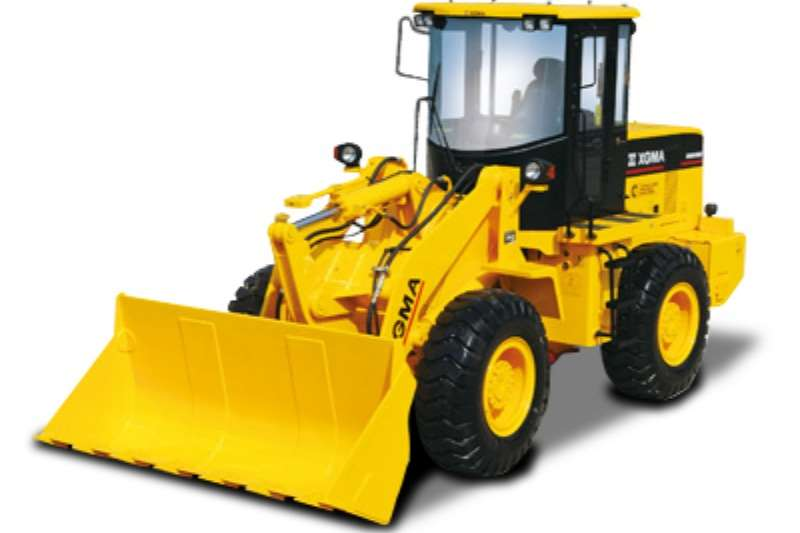 XGMA XG935H with forks & bucket Wheel loader
