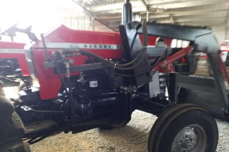 Massey Ferguson MF 188 + FEL Tractor Refurbished to NEW 0125205010