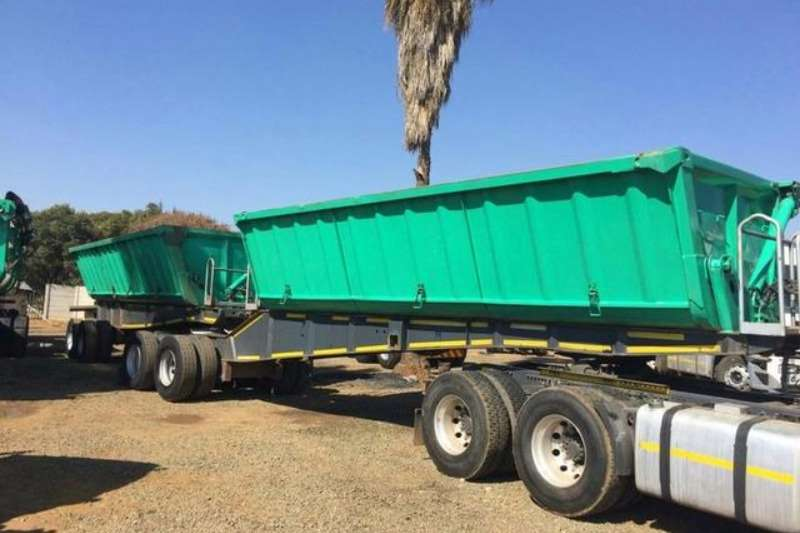 Top Trailer PTY LMT Tandem Front & Rear