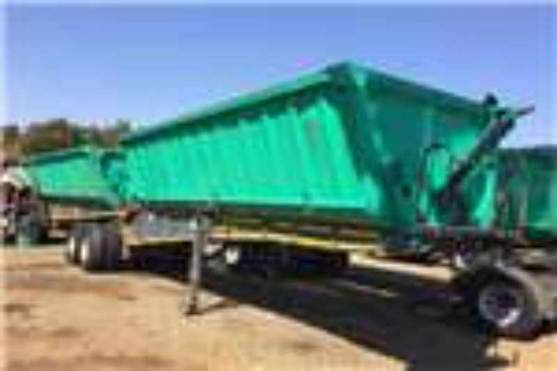 Top Trailer PTY LMT Tandem Front & Rear Side Tipper