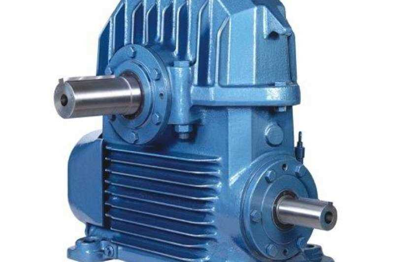 Input, Main and Countershafts Gearboxes