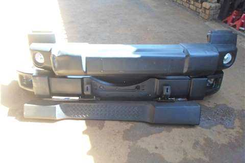 2011 Jeep Wrangler Bumpers And Side Step