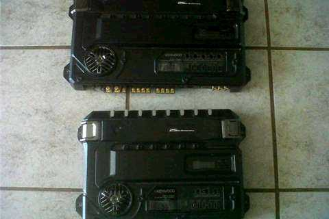 Kenwood Sound Quality Amps