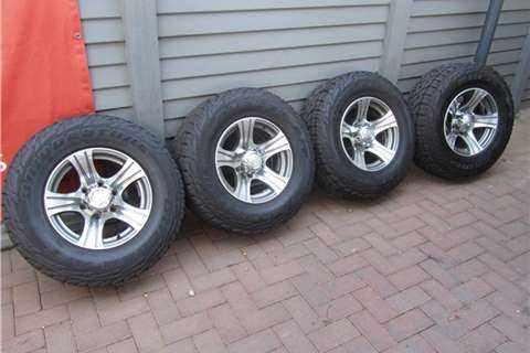 Mags + Tyres For Bakkie