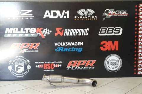 Rogue Performance Exhausts Downpipe & Software Combo Only R5500