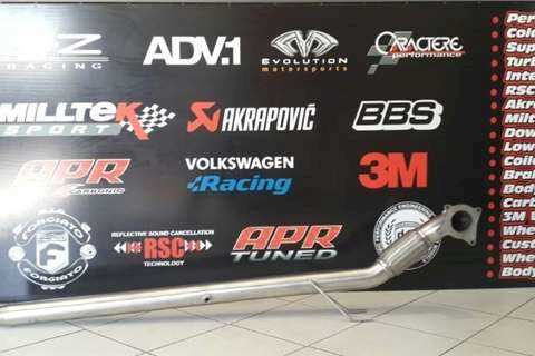 Rogue Performance Exhausts Downpipe & Software Combo R5500