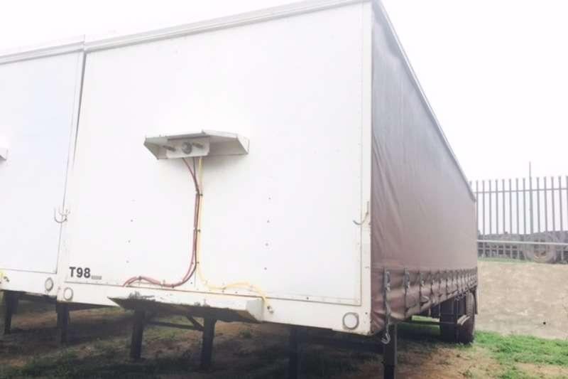Homebuilt 10m tautliner trailer