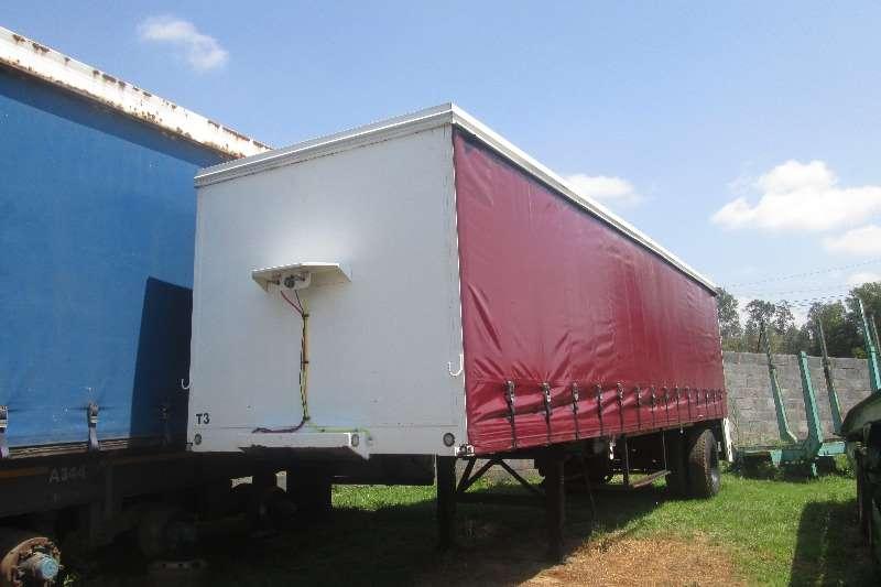 Homebuilt 9.3m tautliner trailer