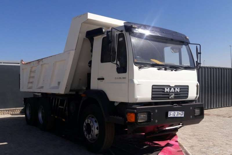 MAN CLA 26.280 10M3 TIPPER