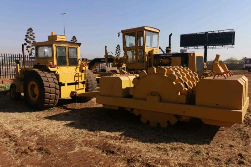 Bell 1206 Tractor Pad Foot Roller Combo