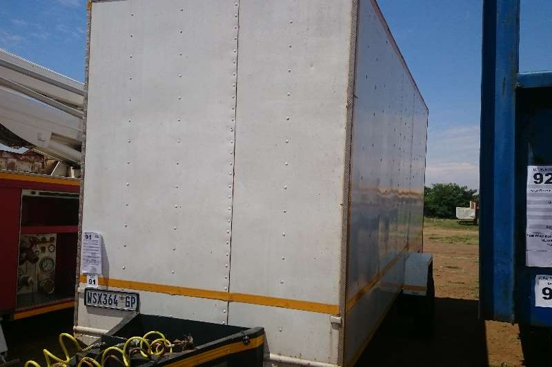 Multiloader Hi-Speed Box Trailer x 2 Available