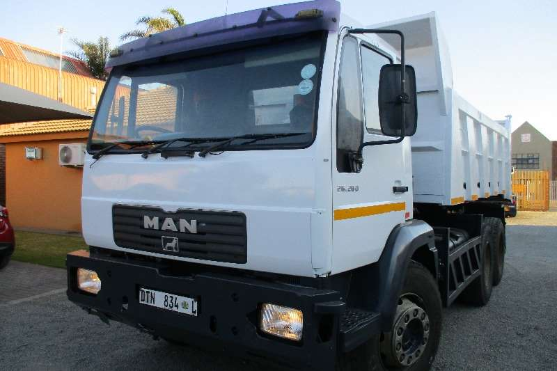 MAN 26-280 Tipper 10m