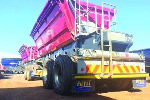 Afrit 25 Cube Side Tipper Interlink- 2014