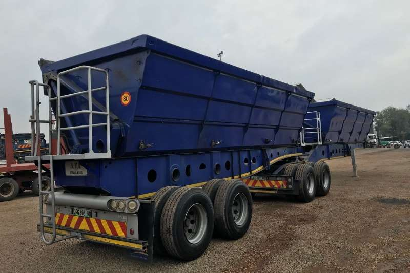 Afrit 45 cube Interlink Side Tippers available