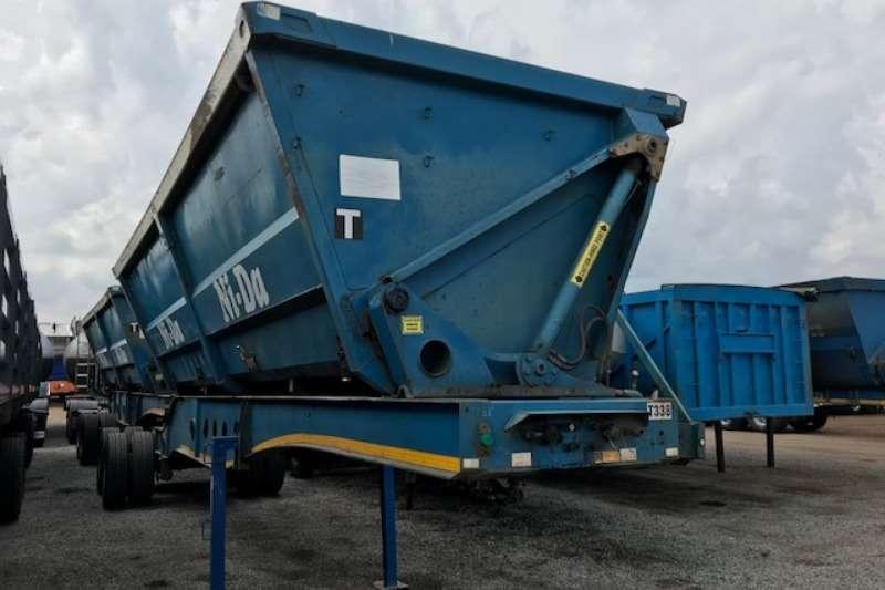 Afrit 45m³ Interlink side tipper trailers