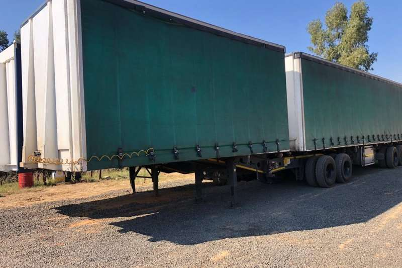 Afrit Trailers Acid Tanker AFRIT SUPER LINK TAUTLINER 2015