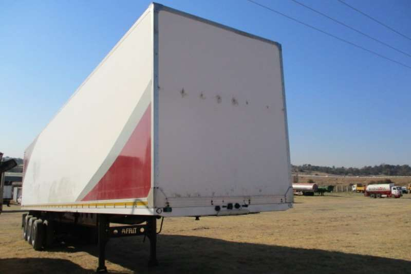 Afrit Trailers Close Volume Body AFRIT TRI AXLE VOLUME BODY TRAILER 2011