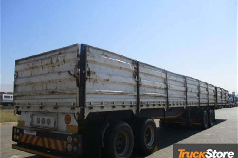 Afrit Trailers DROPSIDE 2012