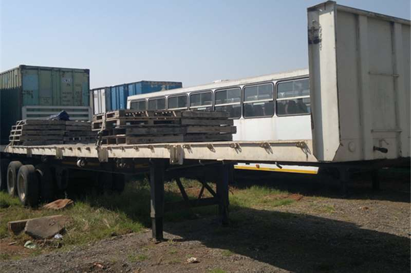 Afrit Food truck trailer Afrit Superlink flat deck Trailers