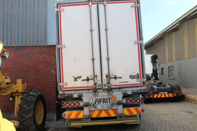 Afrit Insulated fridge unit Refrigerated Trailer (28 Pallet) Trailers
