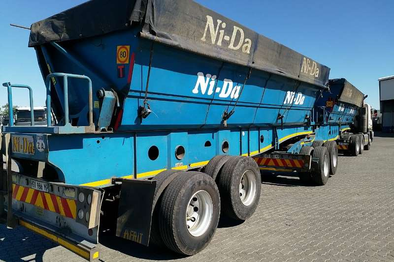 Afrit Side tipper 40 CUBE NEW DESIGN BINS Trailers