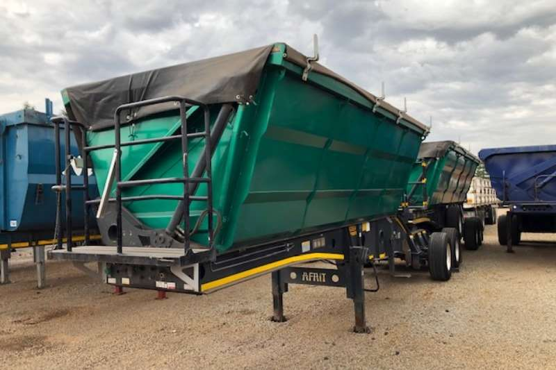 Afrit Trailers Side Tipper 40m³ Interlink Side Tipper with Super Singles 2013