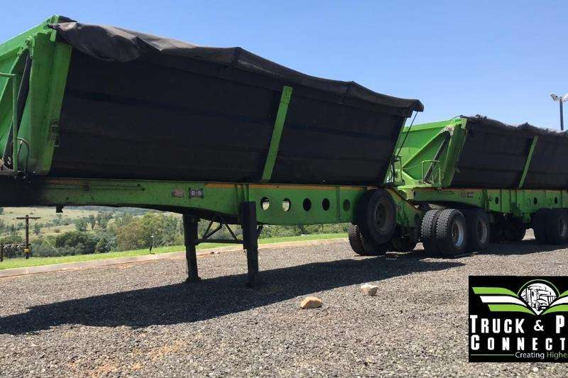 Afrit Side tipper Afrit 45m3 Side Tipper Trailers
