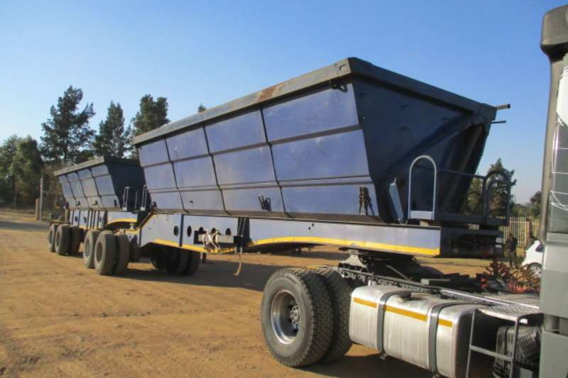 Afrit Trailers Side Tipper AFRIT INTERLINK SIDE TIPPER TRAILER 2010