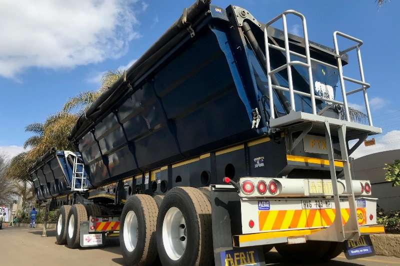 Afrit Side tipper AFRIT SIDETIPPER INTERLINK Trailers