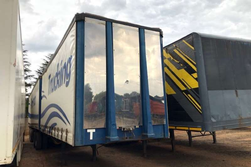 Afrit Trailers Tautliner 7/11 Interlink Tautliner Trailer 2011