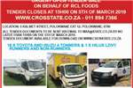AUCTION ADVERT RCL FOODS OPEN TENDER Trucks for sale in