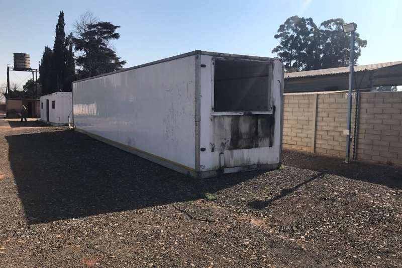 Box trailer Containers + Assorted tools ect 2015