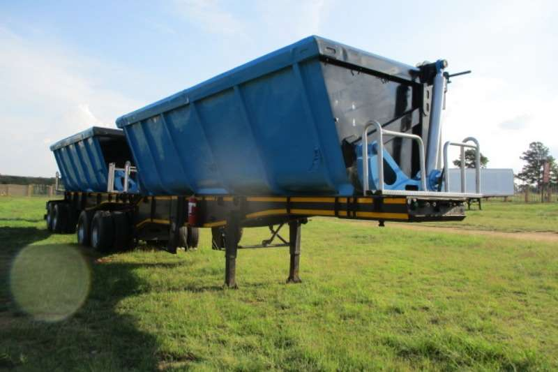 Cargo Lite CARGOLITE INTERLINK SIDE TIPPER TRAILER