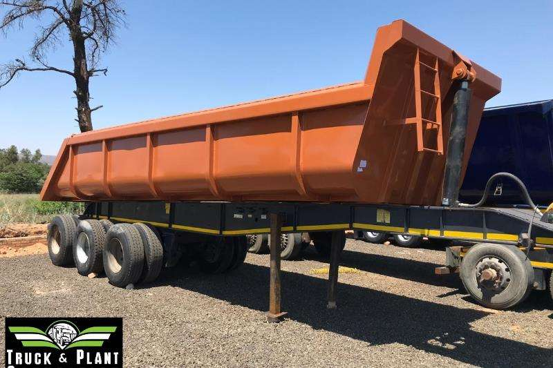 Cobalt End tipping 2016 Cobalt 25m3 Rear End Tipper Trailers