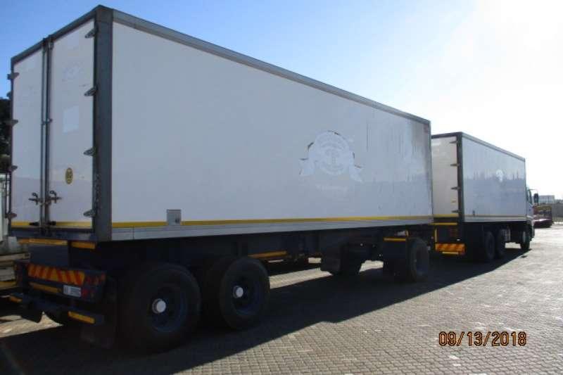 RAPID FRIDGE DRAWBAR TRAILER Coldroom trailer