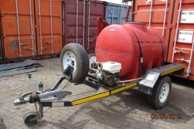 1000LITRE DIESEL TRAILER AND WATER TANKER Diesel bowser trailer