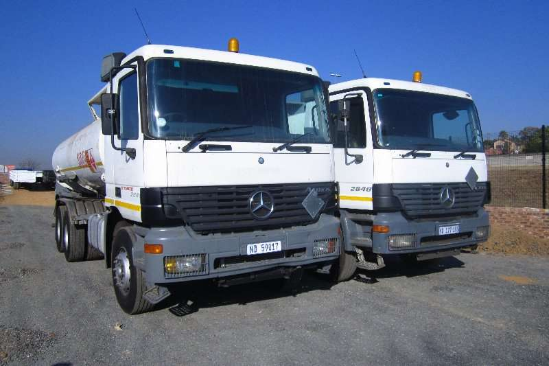 Diesel Tanker Other Mercedes Benz Actros 3340 2002