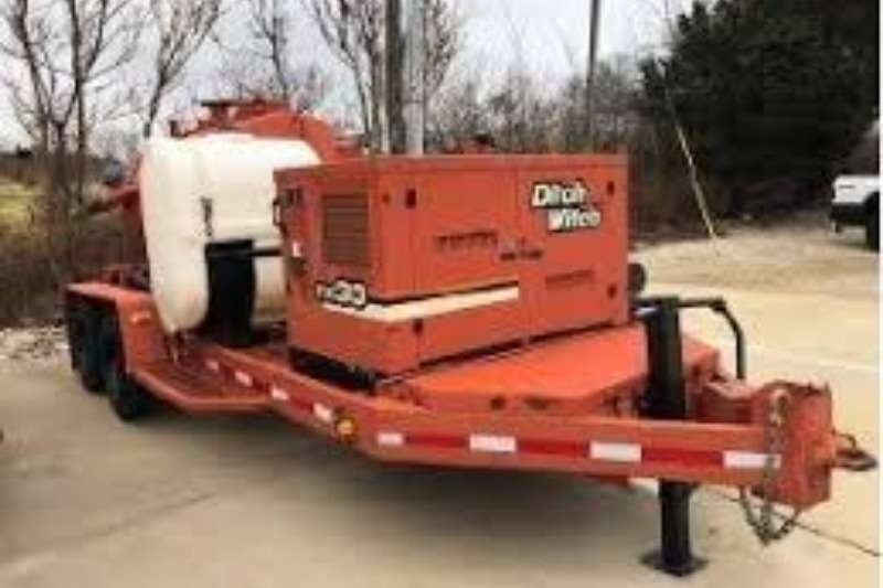 Ditch Witch Trailers Water Tanker DITCH WITCH FX3 3600L VACUUM WATER TANKER 2004