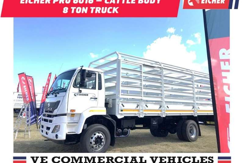 Eicher Cattle body Eicher Pro 6016   Cattle Body 8 Ton Truck