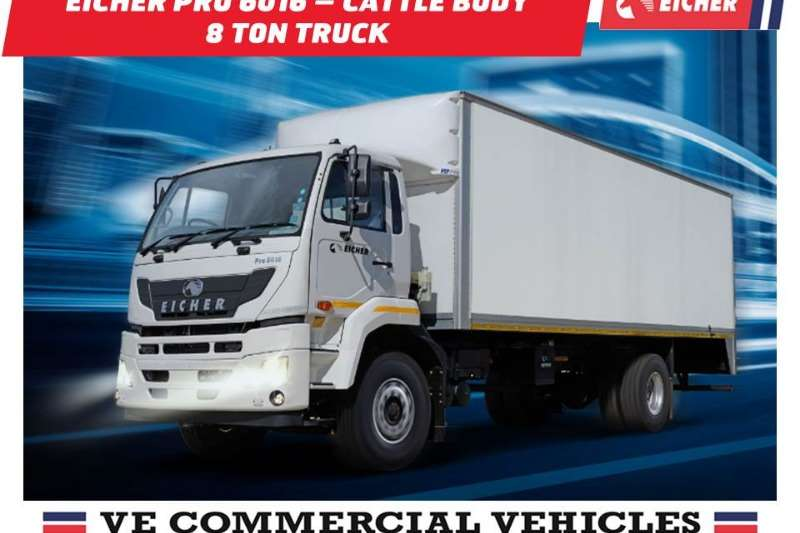 Eicher Van body Eicher Pro 6016   Van Body 8 Ton Truck
