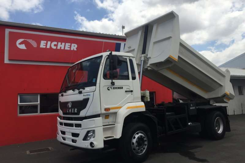Eicher Van body Eicher Pro 6016   With used 6m³ GRP Insulated Body Truck
