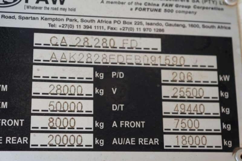 FAW 28.280FD 10m3 6x4 Tipper