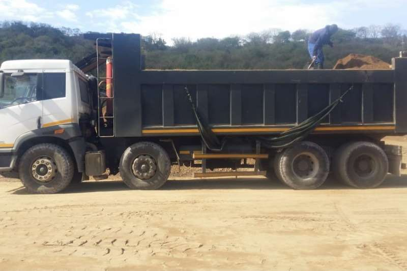 FAW 35 340 Twinsterr Tippers 18m Truck